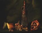 Натюрморт с бутылкой