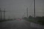 По дороге в ливень