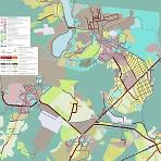 Краснозаводск. Карта планируемого развития транспортной инфраструктуры.