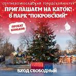 """Каток в парке """"Покровский"""""""
