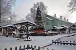 Новогодняя ярмарка на улице Сергиевской