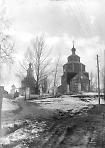 Фотофакт сноса деревянной церкви Казанской Божьей Матери