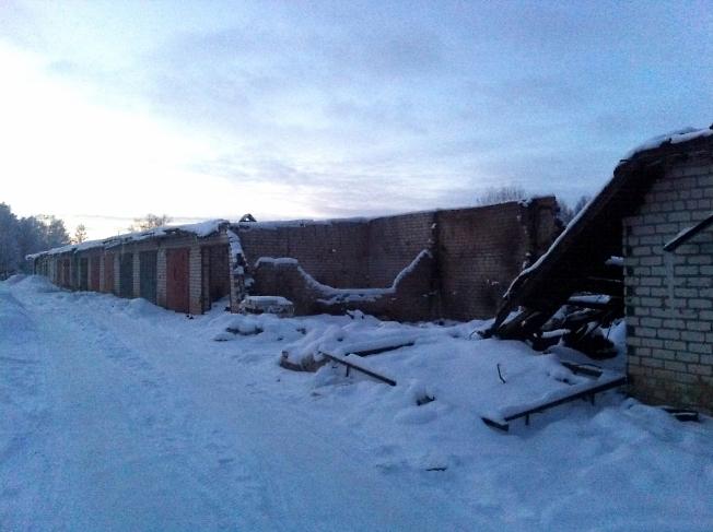 январь 2014, последствия пожара в Кразе 2