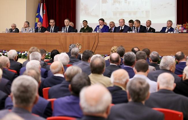 сентябрь 2015, заседание КПСС (на самом деле др НИИПХ 70 лет)