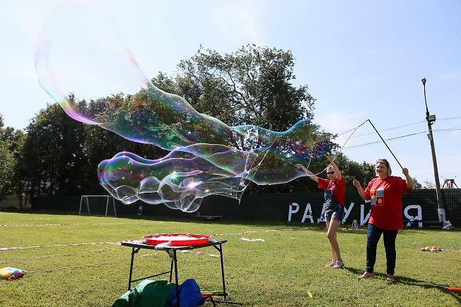 август 2015, мыльные пузыри