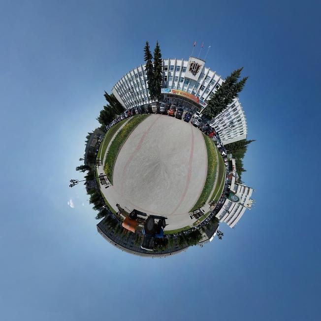 июнь 2015, планета Советская площадь