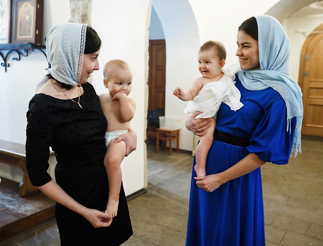 ноябрь 2016, крестные мамы
