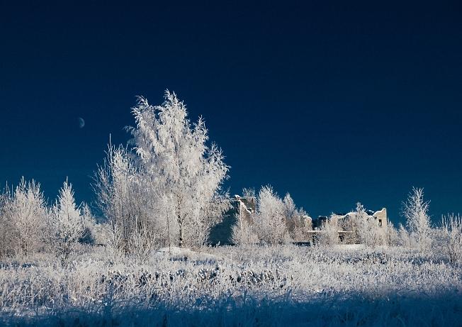 декабрь 2018, морозно