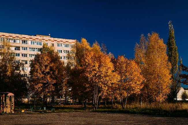 октябрь 2018, осень