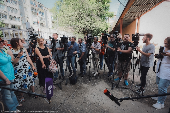 июнь 2019, журналисты