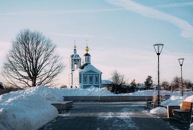 январь 2019, сегодня морозно
