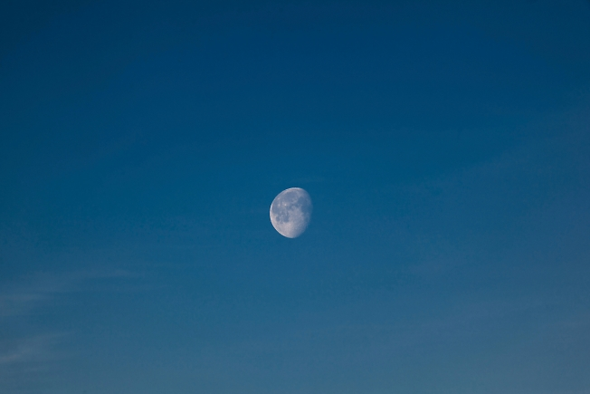 февраль 2019, Луна