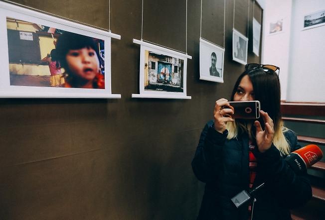 апрель 2019, открытие выставки.