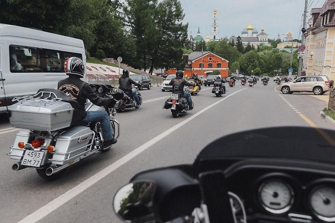 май 2019, байкеры в Посаде