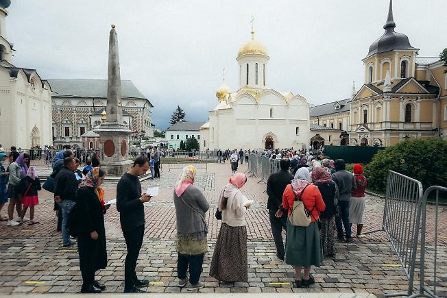июль 2020, день обретения мощей Сергия Радонежского