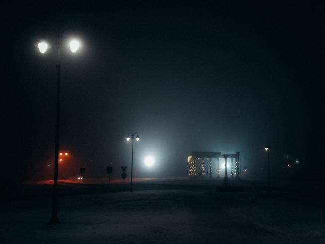 декабрь 2020, туман