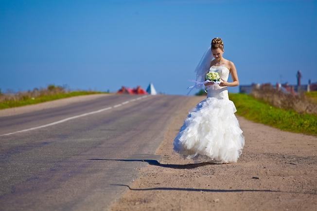 сентябрь 2009, первая свадьба