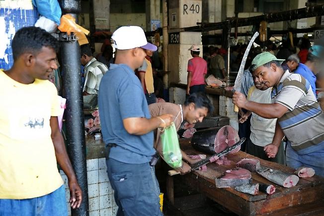 Шутники продавали тунца.