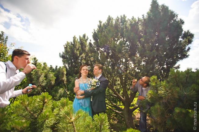 Я с ассистентами на свадьбе