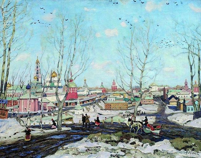"""""""Весна в Троицкой Лавре"""""""