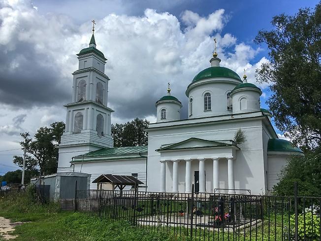 Успенский храм села Подсосино. Июль 2020 года.