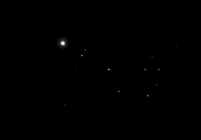 Венера в Плеядах