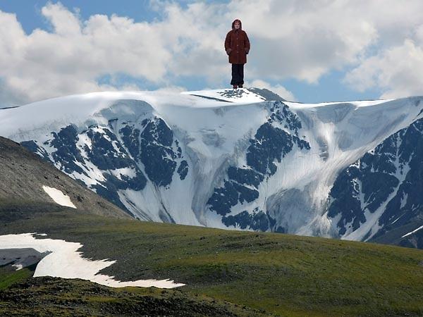 Ира на высокой горе