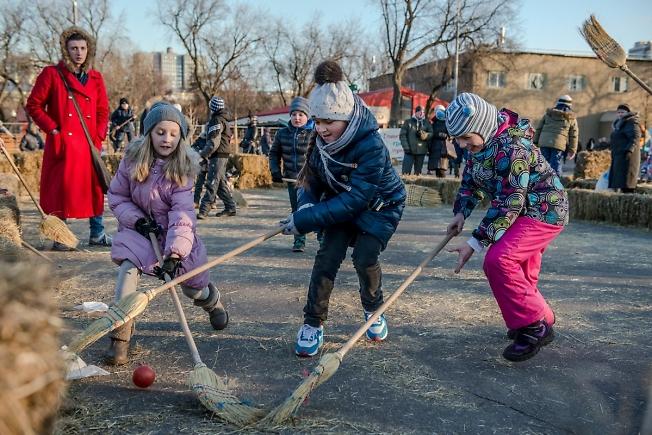 Метлобол в Парке Горького