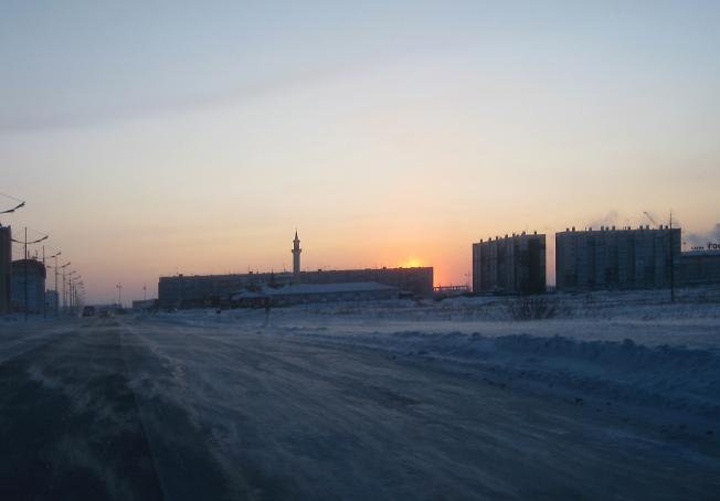 Замороженный город