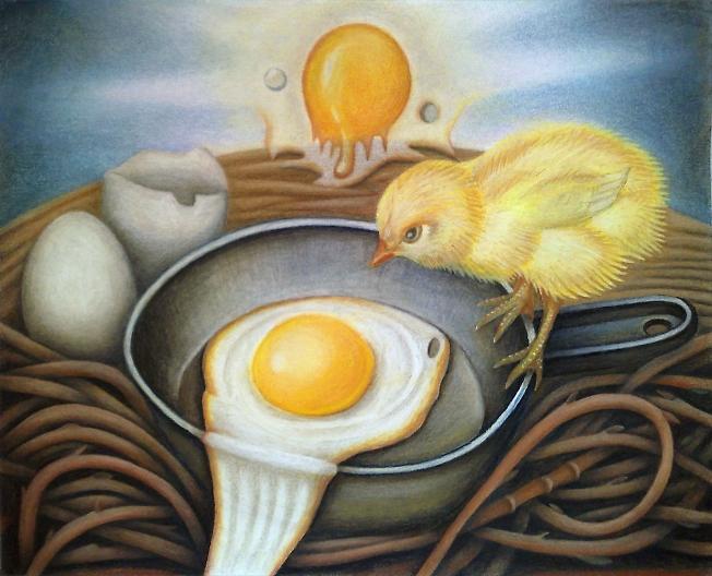 Цыплёнки тоже хочут жить