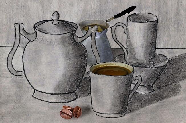 Натюрморт кофейный