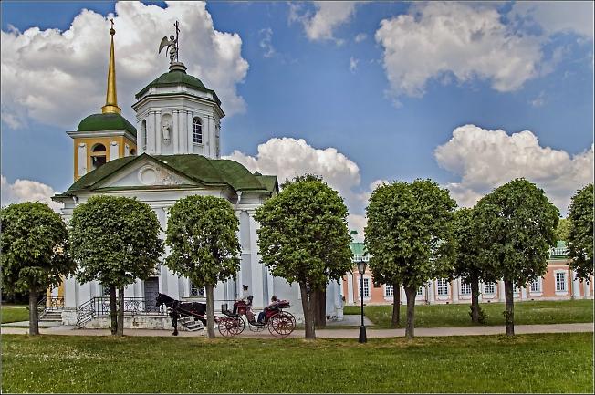 Москва. Кусково.