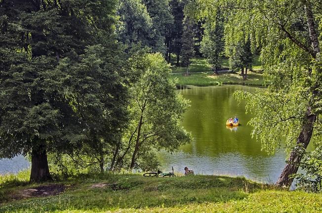 В парке на Скитских - 2