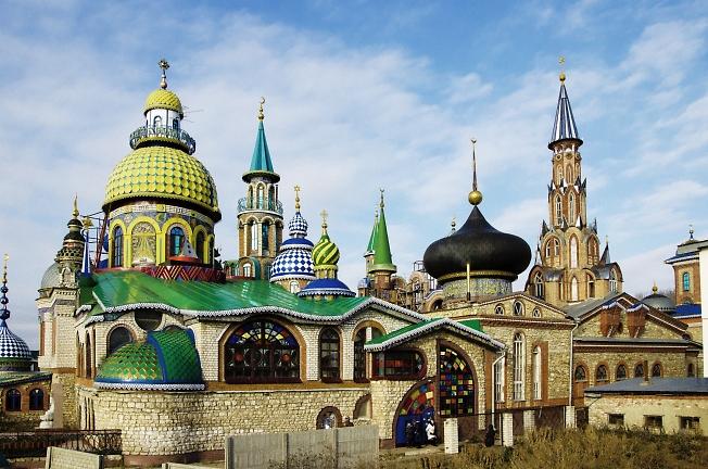 Казань. Храм всех религий.