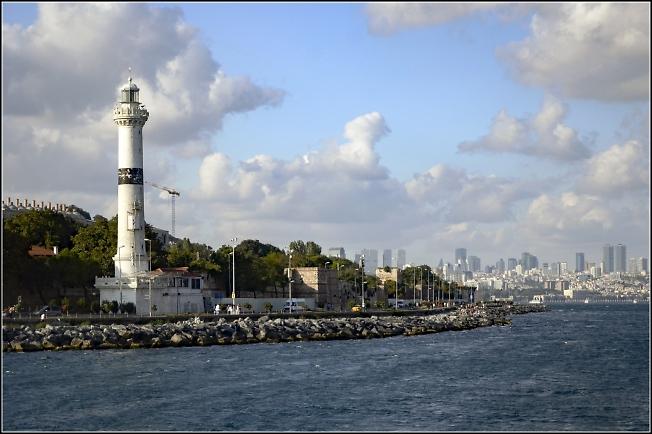 Стамбул. Пролив Босфор.