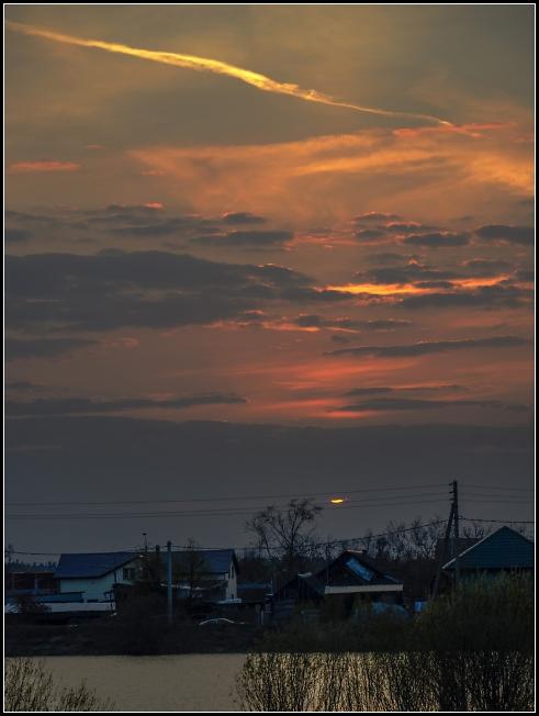 Закат в Селково