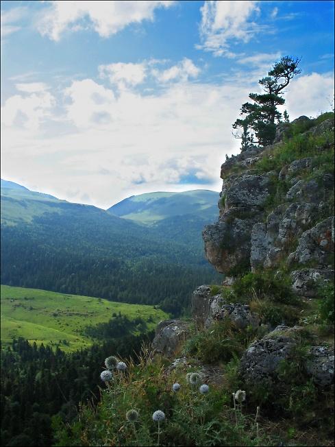 В горах Адыгеи