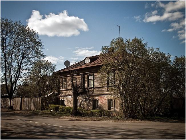 Дом на Воробьевке