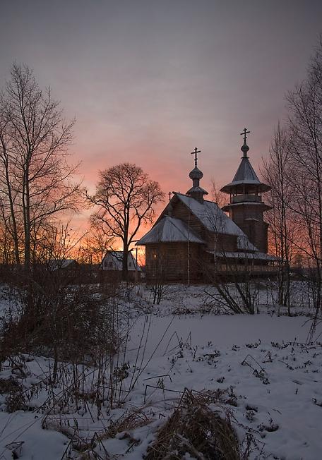 Храм в селе Благовещение