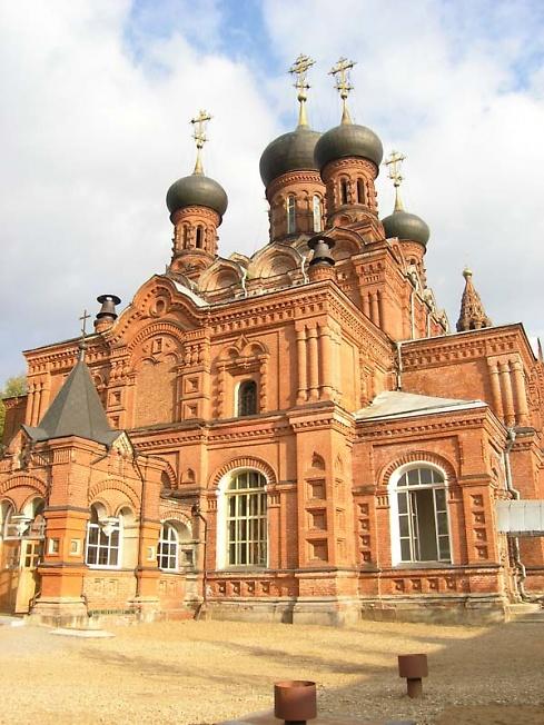 Черниговский храм в одноименном скиту