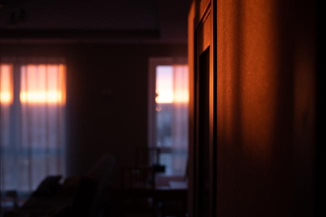 Закат из дома :)