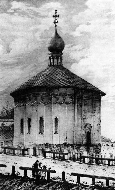 Введенская церковь. Литография