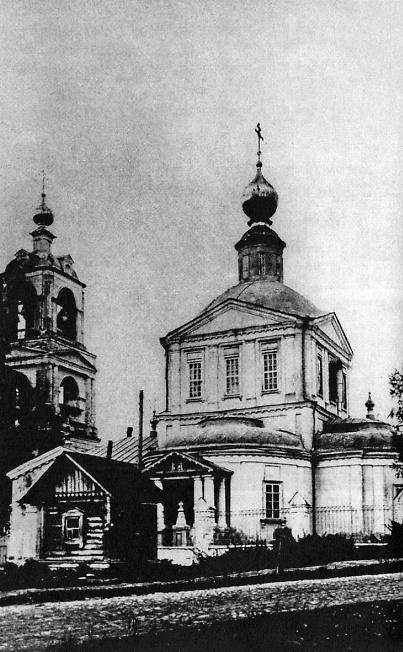 Кокуевская (Воскресенская, Петро-Павловская) церковь