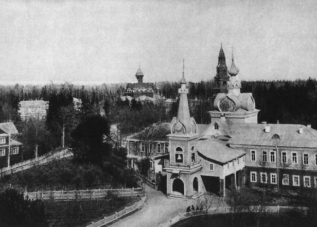 Деревянная церковь в Черниговском скиту