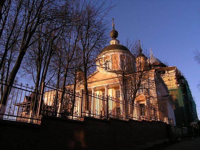 Покровский собор. Покровский Хотьков монастырь