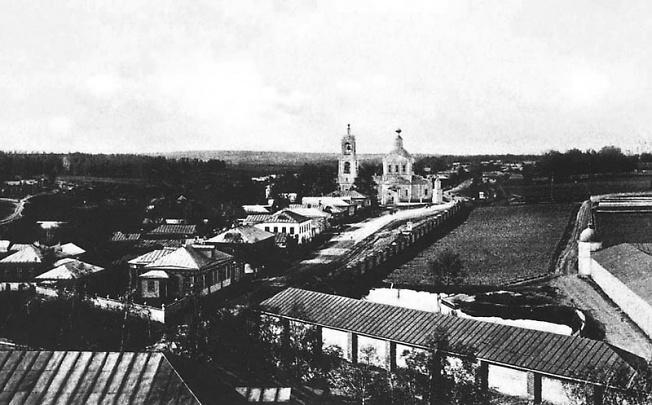 Вид на север с Уточьей башни
