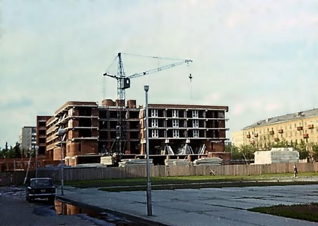 """Строительство гостиницы """"Загорск"""""""