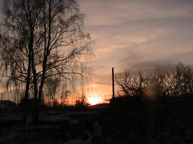 Закат для Малины