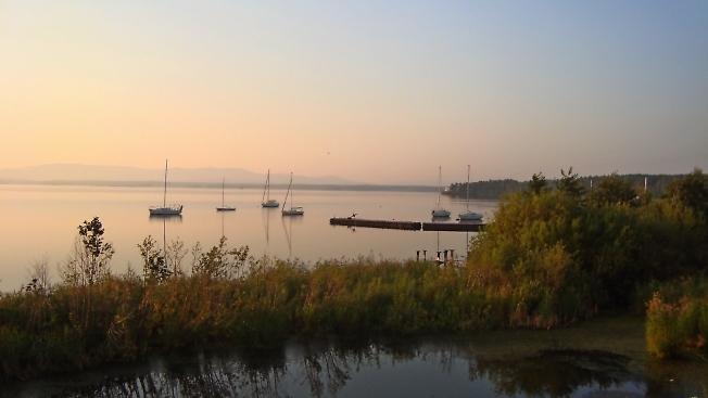 Вечер на озёрах