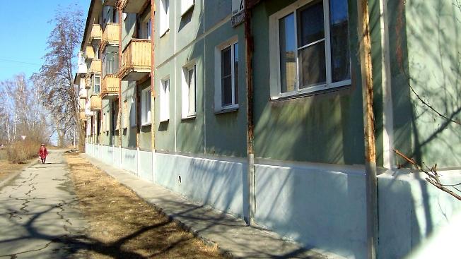 Дом с опорами в Озёрске
